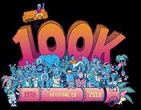 Zumiez 100K 2018 Logo Development
