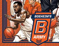 2018 Boeheim's Army poster art