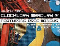 Clockwork Mercury Event Flyer