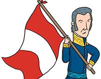 Don José De San Martín y la Independencia del Perú