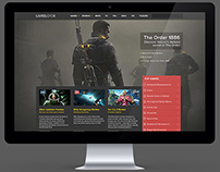 GameLook Concept Game Portal