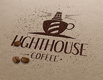 Logo for coffee house menu