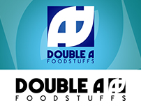Double A logo design