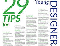 29 Tips for Young Designers