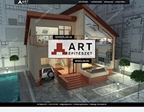 Art architecture webdesign - beta