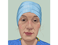 Portraits for NHS Heroes no2
