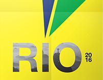 Typography · Rio 2016