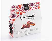 Dolfin - Caramel & Chocolate Packaging