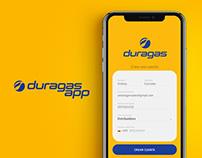 Duragas App UX/UI