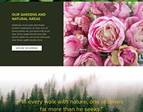 Cornell Botanic Gardens Site Rebrand