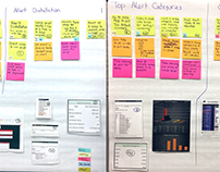 User journey for creating customer reports