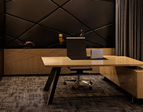 3D Rendering for individual client. The Office