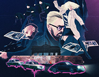 Atomic Blonde illustration