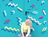 Studio Eyecandy Door Mural