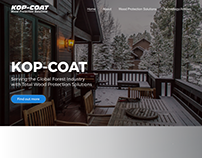 Kop-Coat Website Redesign