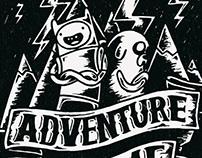 Adventure time / illustration&lettering