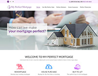 My Perfect Mortgage - Financial Services Website