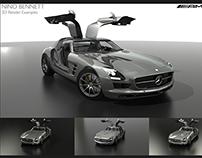 Nino Bennett 3D Render Examples