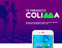 App Te Presento Colima UI / UX