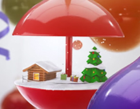 Christmas television video ident