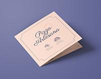 Diseño de Menú | Pizza Artesana