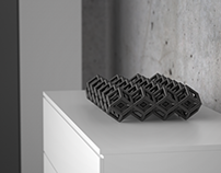 Sculptural high-end heat sinks