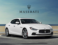 Maserati - Mobile eCommerce Design