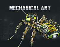 Mechanical Ant Icon