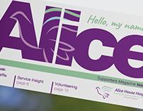 Alice House Hospice Magazine
