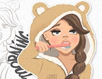 Art Stickers - Yango Olga