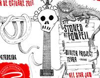 Cartel Guitar Calavera Fest