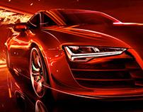 Audi A7 pitch