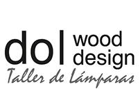 Diseño Marca Taller de Lámparas en Madera