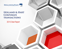 Holland & Hart Corporate Transactions Deal Report
