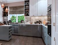 Design interior kitchen