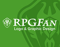 RPGFan Logo & Graphic Design