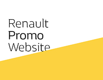 Renault Promo Website