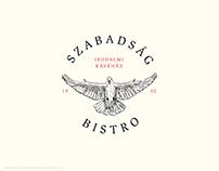 Szabadság Bistro Branding Concept
