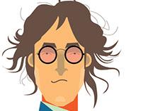 John Lennon, ilustración a 36 años de su asesinato
