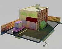 GANJA BURN - 3D ISOMETRIC