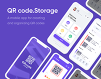 UX QR code generator app for iOS and Android