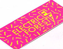 Electric Forest Music Festival Branding
