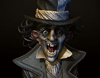 Mad Hatter - Zbrush Summit 2017 Sculpt-Off