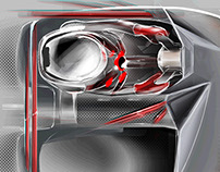Racing Car Interior Design