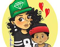 Nanda e Miguel