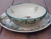 Ceramics Set Coqou