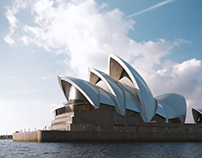 Sydney Opera House - Full CGI