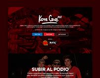 WEB DESIGN: KoteCruz.cl Landing page responsive