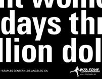 WTA campaign branding