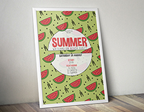 Watermelon Summer Flyer